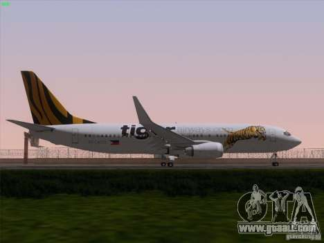 Boeing 737-800 Tiger Airways for GTA San Andreas engine