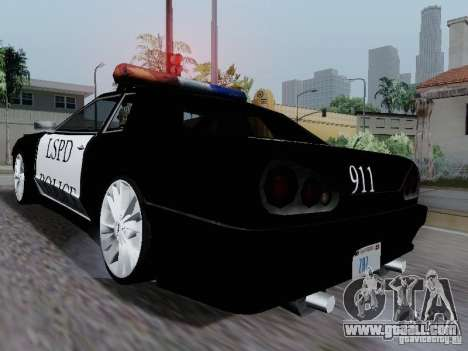 Elegy Police LS for GTA San Andreas right view