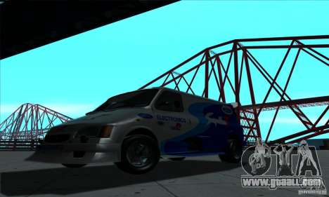 Ford Transit Supervan 3 2004 for GTA San Andreas left view
