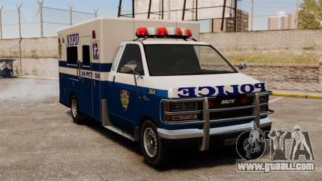 New van police for GTA 4