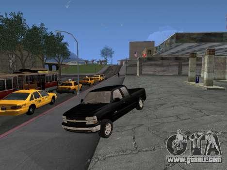 Chevorlet Silverado 2000 for GTA San Andreas back left view