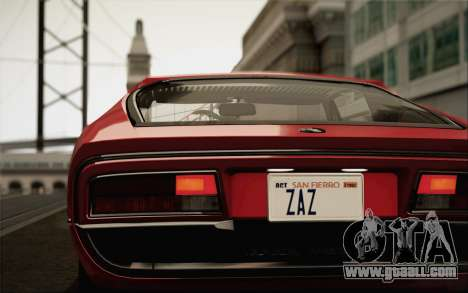 Alfa Romeo Montreal 1970 for GTA San Andreas left view