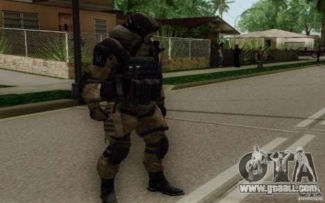 The Medic from Warface for GTA San Andreas second screenshot