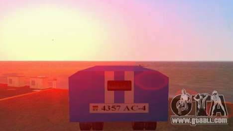 ZIL 130 for GTA Vice City back view