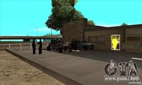 Renewal of driving schools in San Fierro V 2.0 F for GTA San Andreas third screenshot