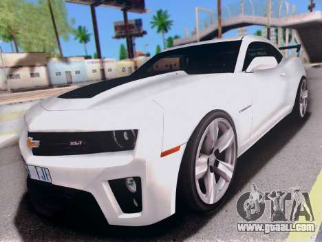 Chevrolet Camaro ZL1 SSX for GTA San Andreas