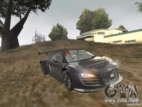 Audi R8 LMS v3.0 for GTA San Andreas back left view