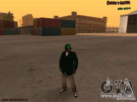 Grove Street Family for GTA San Andreas