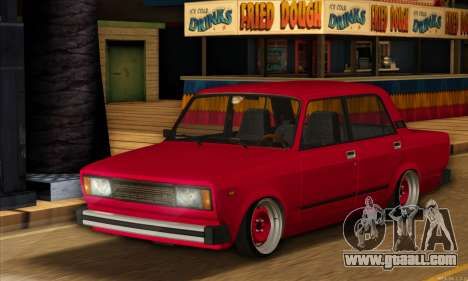 VAZ 2105 Cherry Pie for GTA San Andreas left view