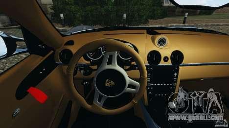 Porsche Cayman R 2012 [RIV] for GTA 4 engine