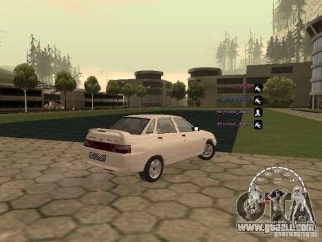 Speedometer Lada Priora for GTA San Andreas second screenshot