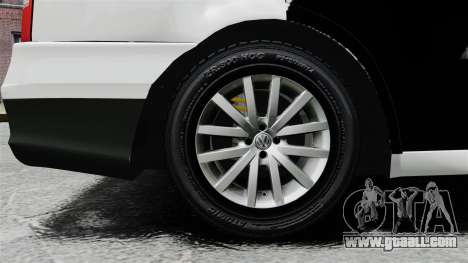 Volkswagen Parati G4 PMESP ELS for GTA 4 back view