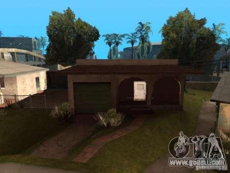 Use warehouse your gang for GTA San Andreas