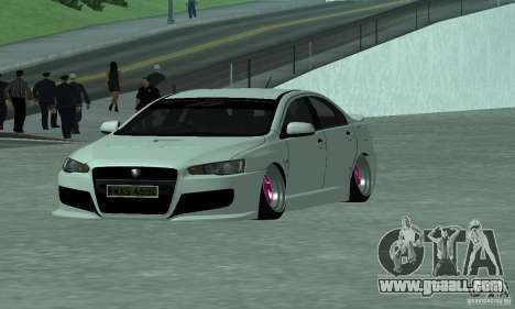 Proton Inspira Camber Edition for GTA San Andreas