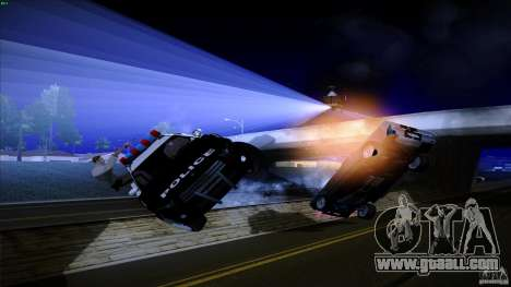 Cops shoot out of machine for GTA San Andreas forth screenshot