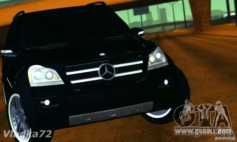 Mercedes-Benz GL500 V.2 for GTA San Andreas right view