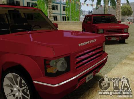 Huntley Freelander for GTA San Andreas back left view