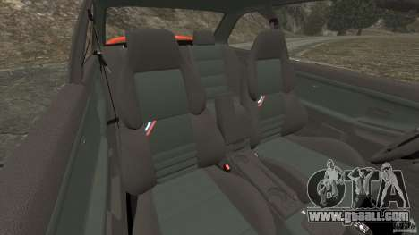 BMW M3 E36 for GTA 4 inner view