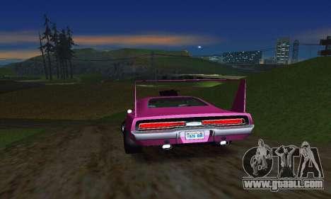 Dodge Charger Daytona SRT10 for GTA San Andreas back view