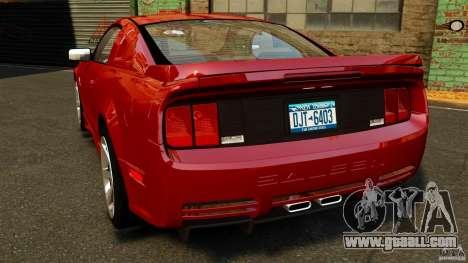 Saleen S281 Extreme v1.5 for GTA 4 back left view