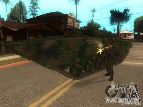 BMP-2 in COD MW2 for GTA San Andreas back view