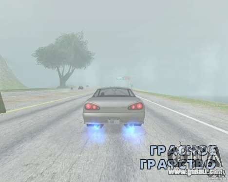 The blur off when using Nitro for GTA San Andreas second screenshot
