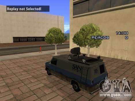 Reporter for GTA San Andreas