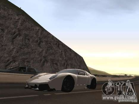 Lamborghini Miura LP670 for GTA San Andreas inner view