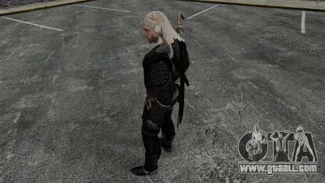 Geralt of Rivia v8 for GTA 4 forth screenshot