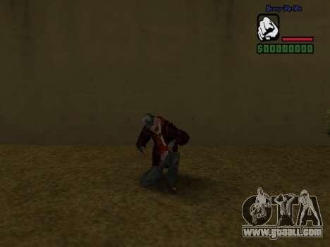 Skin the bum jacket for GTA San Andreas sixth screenshot