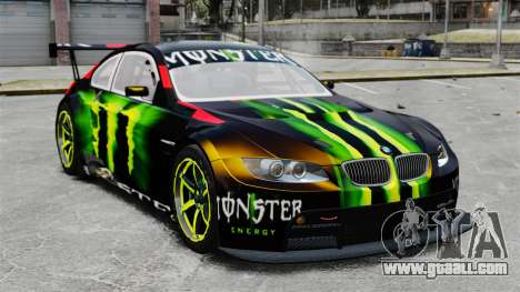 BMW M3 (E90) 2008 Monster Energy v1.2 for GTA 4