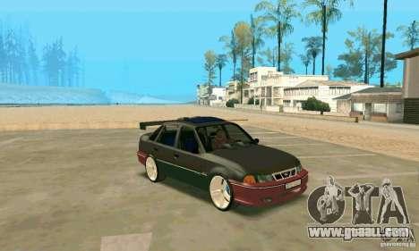 Daewoo Nexia Tuning for GTA San Andreas left view