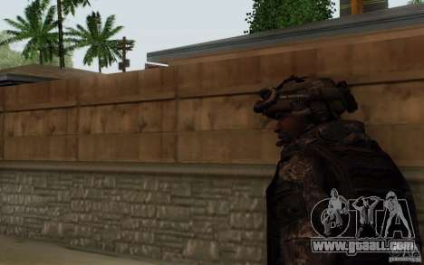 Sergeant Foley from CoD: MW2 for GTA San Andreas third screenshot