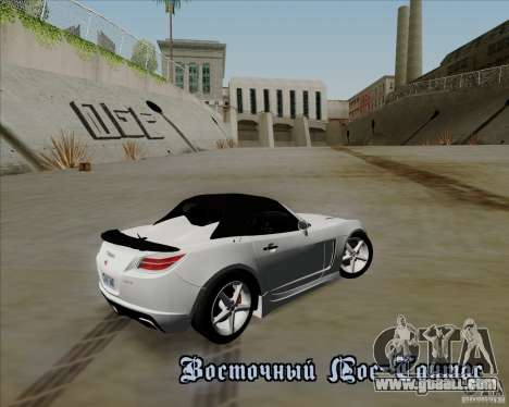Saturn Sky Red Line 2007 v1.0 for GTA San Andreas back left view