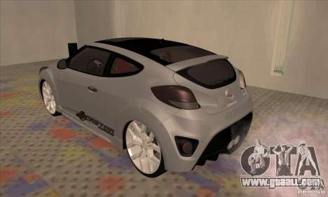 Hyundai Veloster Castor for GTA San Andreas right view