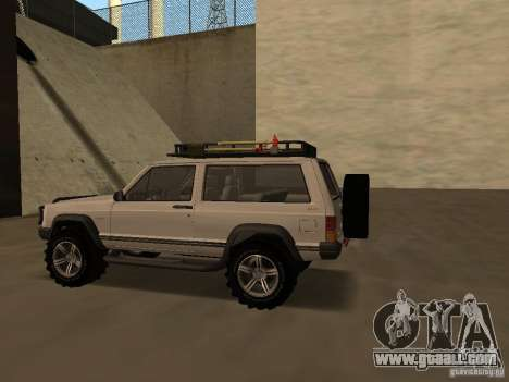 Jeep Cherokee Sport for GTA San Andreas right view