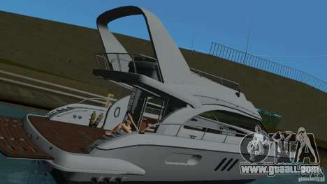 Boat for GTA Vice City inner view