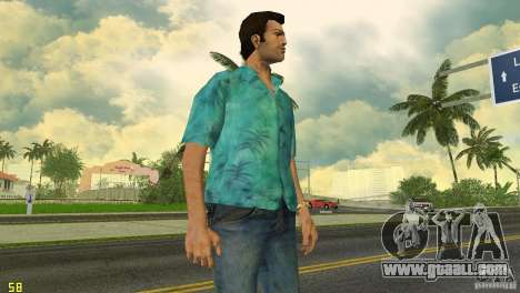 Tommy HQ Model for GTA Vice City third screenshot