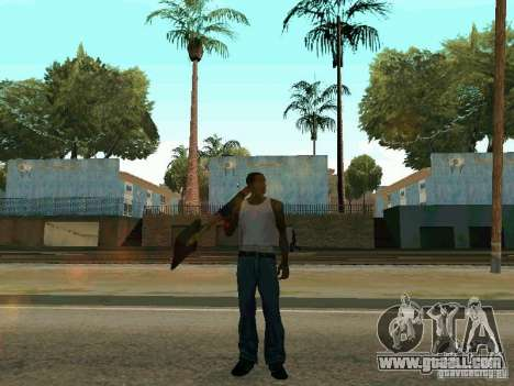 Lopatomët for GTA San Andreas sixth screenshot