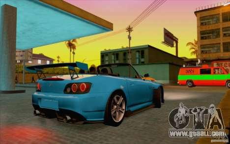 Honda S2000 for GTA San Andreas right view