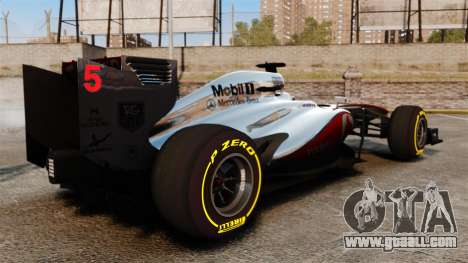 McLaren MP4-28 for GTA 4 right view