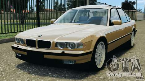 BMW 750iL E38 1998 for GTA 4