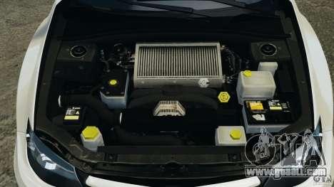 Subaru Impreza WRX STi 2011 G4S Estonia for GTA 4 interior