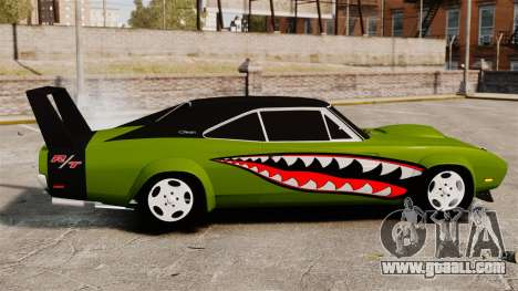 Dodge Charger RT SharkWide for GTA 4 left view
