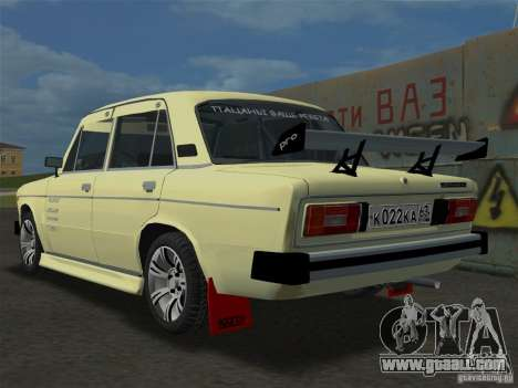 VAZ 2106 Sparco Tuning for GTA Vice City left view