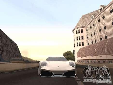 Lamborghini Miura LP670 for GTA San Andreas right view