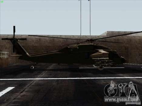 S-70 Battlehawk for GTA San Andreas left view