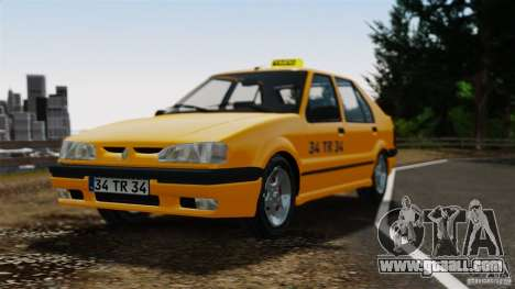 Renault 19 Taxi for GTA 4