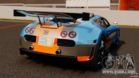 Bugatti Veyron 16.4 Body Kit Final for GTA 4