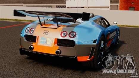 Bugatti Veyron 16.4 Body Kit Final for GTA 4 back left view